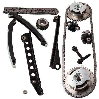 Timing Chain Kit Cam Gears For Ford F150 F250 Lincoln 5.4 Triton  04-10 3-valve
