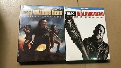 The Walking Dead Season 7 & 8 [blu-ray] Brand New Free Shipping From Usa