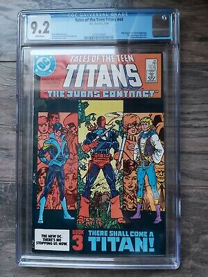 Tales Of The Teen Titans #44 Cgc 9.2 1st App Nightwing & Jericho