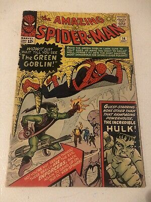 Amazing Spiderman 14 1st Appearance Of The Green Goblin Norman Osborne See Pics!