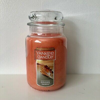 """Yankee Candle ~ Golden Sands ~ 22oz Large Jar *free Expedited Shipping"""""""