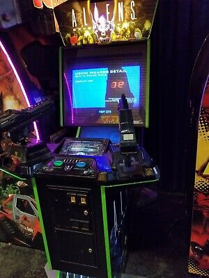 Aliens Arcade Coin Operated Game Very Good Condition