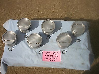 Ford Wiseco 427 Small Block Ford  # 5065 Hs Six Forged Pistons 4.125 Bore