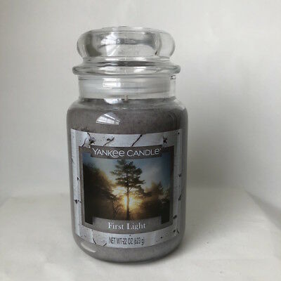 Yankee Candle ~ First Light ~ 22oz Large Jar *free Expedited Shipping*