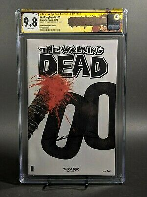 Walking Dead #100 Megabox Edition **cgc 9.8** Signed By Kirkman