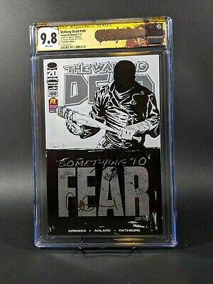 Walking Dead #100 Convention Edition ***cgc 9.8*** Signed By Kirkman