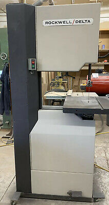 """Rockwell/delta 20"""" Band Saw/ Resaw"""