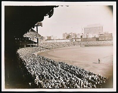 Yankee Stadium 1936 World Series 9x7 Type 1 Photo