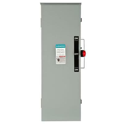 Siemens Double Throw 100 Amp 240-volt 3-pole Outdoor Non-fusible Safety Switch