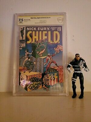 Nick Fury, Agent Of Shield #1 Signed By Steranko 1st Issue 7.5 Fn/vf