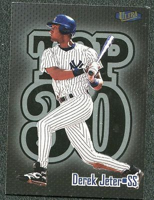 Yankee Derek Jeter 1998 Fleer Ultra 18 Of 30 T3