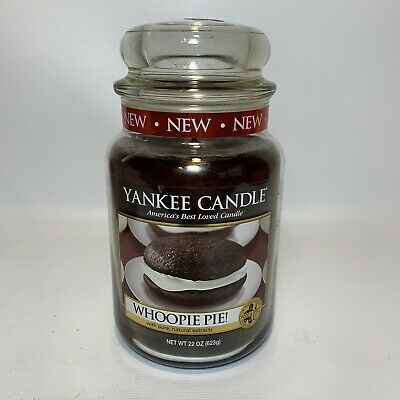 "Rare Yankee Candle Retired ""whoopie Pie"" Large 22 Oz White Label - Brand New"