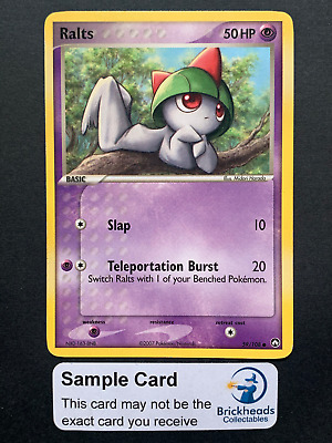 Ralts 59/108 Common   Ex Power Keepers   Pokemon Card