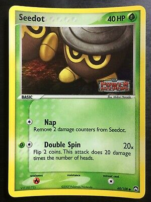 Pokemon Card - Seedot - EX Power Keepers 60/108 Holo Stamped Near Mint Nm