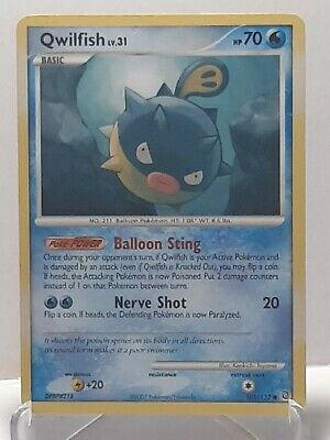 Qwilfish 101/132 Pokemon Secret Wonders Water Common LP Used See Pictures