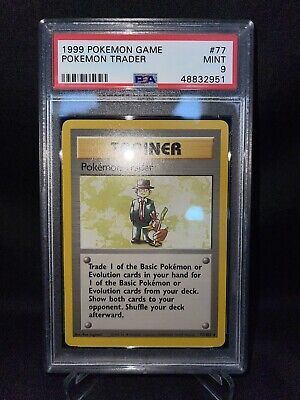 Pokemon TCG 1999 Base Set Trainer Pokémon Trader Card *MINT PSA 9*