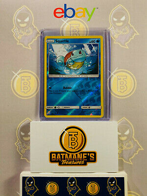 Squirtle 33/214 NM Near Mint SM Unbroken Bonds Reverse Holo Pokemon Card