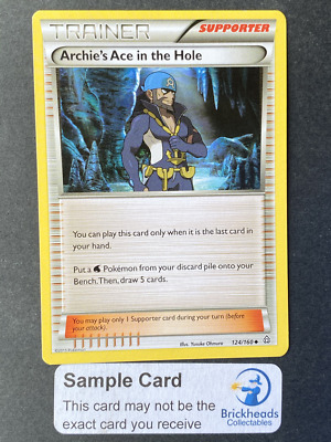 Archie's Ace in the Hole 124/160 Trainer | XY: Primal Clash | Pokemon Card