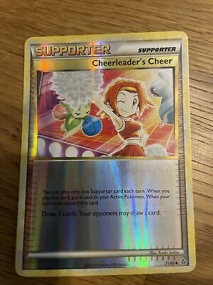 Cheerleader's Cheer 71/95 Reverse Holo HS Unleashed Pokemon Card LP/NM