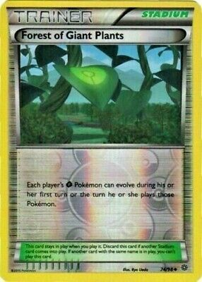Pokemon Ancient Origins Forest of Giant Plants 74/98 Trainer Reverse Holo