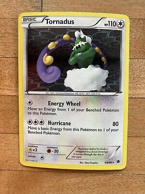 Tornadus Emerging Powers Rare Pokemon Card 89/98