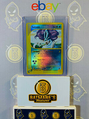 Suicune 37/147 LP Played Aquapolis Set Reverse Holofoil Rare Holo Pokemon Card