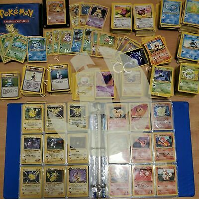 Pokemon TCG Selection / Pick Card | Base Set Vintage 1999 Common, Uncommon, Rare