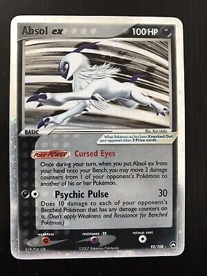 Pokemon Ex Power Keepers Absol Ex 92/108 - LP
