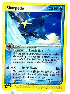 Sharpedo 22/109 EX Ruby & Sapphire Vintage Pokemon See Our Other 0.01 Auctions