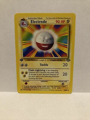 Electrode 1st Edition Jungle Pokemon NM NEVER PLAYED