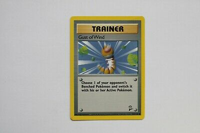 Pokemon Trading Card Base Set 2 Gust of Wind 120/130 (common)