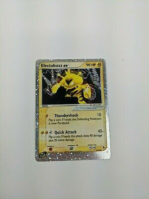 Pokemon EX Ruby And Sapphire Electabuzz EX Holo 97/109 LP/NM