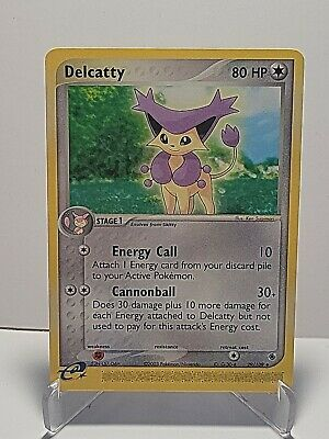 Delcatty 29/109 Pokemon EX Ruby & Sapphire Colorless Uncommon LP UsedSeePictures