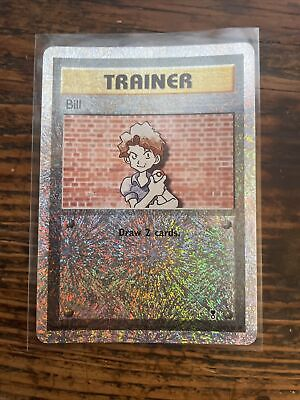 Bill 108/110 Reverse Holo Trainer Pokemon Card - Legendary Collection - LP/NM