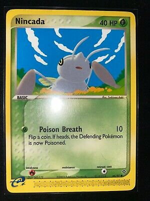 Pokemon Card TCG - Nincada -EX Dragon Pokemon 66/97 Non Holo - Common - WOTC LP