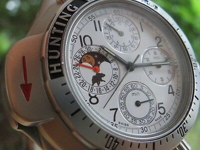 Mega Rare For Hunting World Fans Moonphase & Compas Complete Collection For Mens