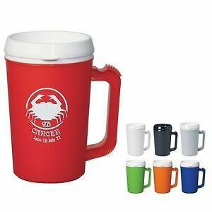 144 Custom Printed 22 Oz. Thermo Insulated Mug