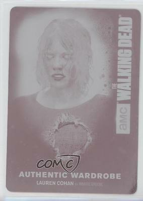 2016 Cryptozoic The Walking Dead Season 4 Part 2 1/1 Lauren Cohan As Card 0c3