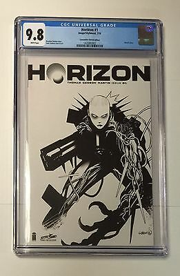 Horizon #1 • Cgc 9.8 • Sketch Cover Rrp • Walking Dead Skybound Image