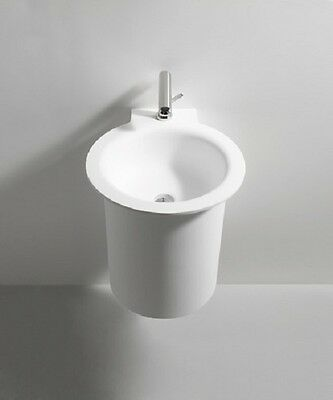 Agape In-out Washbasins Circular Washbasin With 1 Hole Acer1603rz