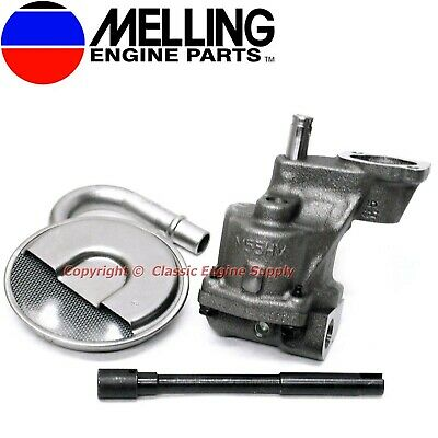 Melling Hv Oil Pump Kit Some V6 & V8 Sb Chevy 400 350 327 307 305 283 267 262