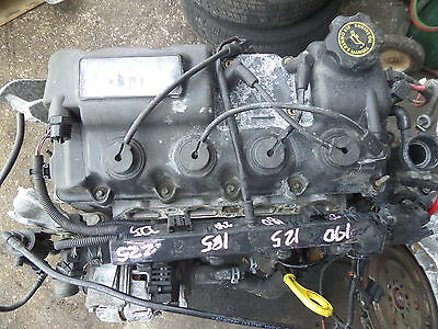 02-06 Mini Cooper Base Core Long Block 1.6l Engine R53 Oem Bad Compression