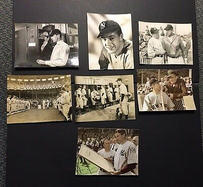 1942 Studio Photos X7 Pride Of The Yankee Staring Gary Cooper Babe Ruth Picture