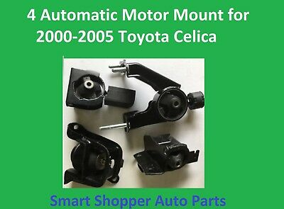 4 Automatic Motor Mount For 2000 2001 2002 2003 2004 2005 Toyota Celica -4pieces