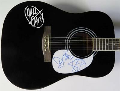 Hall And Oates Signed Autograph Guitar By Daryl Hall & John Oates