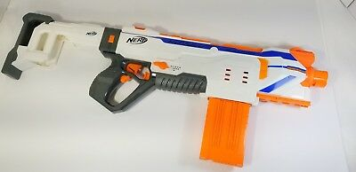 Nerf N Strike Modulus Regulator Blaster Nerf Gun Stock And 12 Round Clip