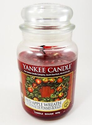 Yankee Candle Red Apple Wreath Large 22 Oz Jar 623g