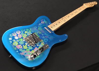 fender japan exclusive classic 69 telecaster blue flower tl69 guitar