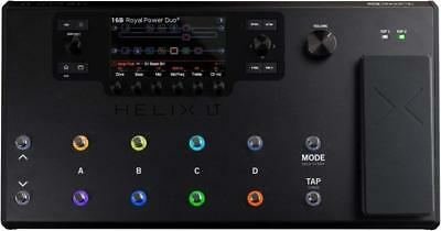 line 6 amp simulator helix lt multi effects guitar effect pedal ems w/ tracking