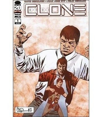Clone #1 (november 2012, Image), Adlard Variant, Nm, Skybound, Schulner